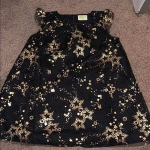 Black/Gold Star Dress.